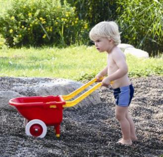 Kinder Schubkarre Gummibereifung TOP QUALITÄT