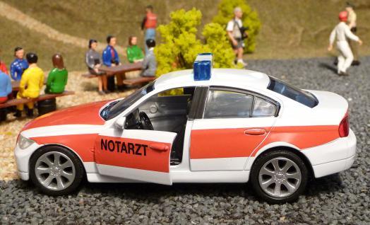 NOTARZT BMW 3er E90 in 1:32 für Carrera Digital TOP DEKORATION