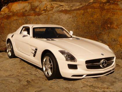 rc mercedes benz sls amg 34cm mit licht ferngesteuert. Black Bedroom Furniture Sets. Home Design Ideas