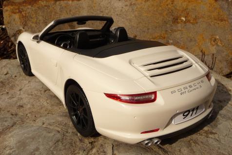 rc modell porsche 911 carrera s cabrio mit licht 37cm. Black Bedroom Furniture Sets. Home Design Ideas