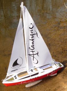 RC Modell Segel Boot ATLANTIQUE 38cm Ferngesteuert