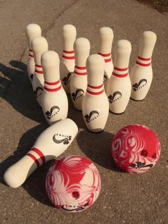 Bowling Kegel Kegelspiel Soft Kegelspiel 12 Set - Vorschau