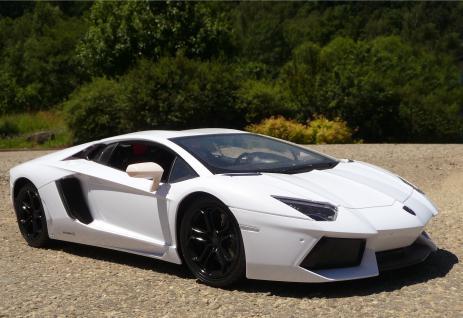 RC Lamborghini AVENTADOR mit AKKU + LICHT 1:10 48cm Ferngesteuert 2, 4-GHz