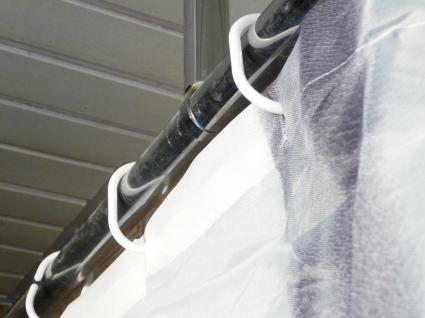 Textil DUSCHVORHANG Motiv NEW-YORK TAXI 180 x 180cm mit 12 HAKEN - Vorschau 3