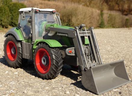 """RC Traktor + Tier-Anhänger Länge 50cm TOP QUALITÄT """"Ferngesteuert 27MHz"""" - Vorschau 3"""
