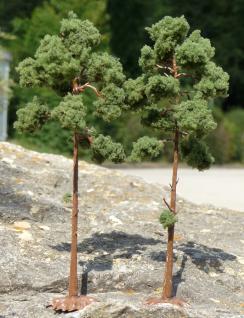 "NADEL Bäume Kiefer 2 STÜCK 16cm HÖHE passend zu 1:32 ""MADE in GERMANY"""