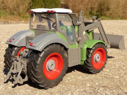 """RC Traktor + Tier-Anhänger Länge 50cm TOP QUALITÄT """"Ferngesteuert 27MHz"""" - Vorschau 2"""