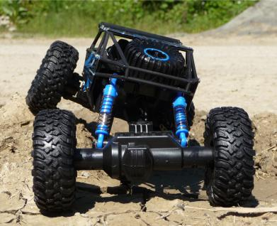 RC MONSTER BUGGY TRUGGY mit 4WD ALLRAD + AKKU Ferngesteuert 2, 4GHz - Vorschau 4