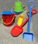 SANDKASTENSPIELZEUG mit Kinder Sandspaten 6-teilig
