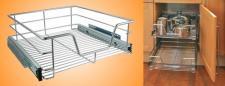 Teleskopschublade Küchenschublade Schublade Küchen Küchenschrank 50cm