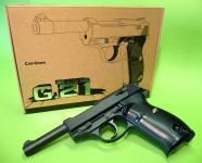 """SOFTAIR 6mm BB KINDERPISTOLE G.21 Zink-Metall Ausführung in """"TOP QUALITÄT"""""""