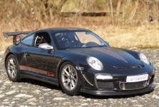 """RC Porsche 911 - 997 GT3 mit AKKU + LICHT Länge 32cm """"Ferngesteuert 2, 4-GHz"""""""