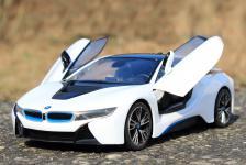 """RC BMW i8 mit LICHT & FLÜGELTÜREN mit FUNKTION Länge 34cm """"Ferngesteuert 40MHz"""""""