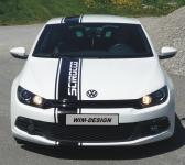 RENNSTREIFEN Aufkleber für VW Scirocco UV beständig!