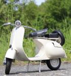 Stand-Modell-Motorrad PIAGGIO VESPA 150 VL1T Baujahr 1955 Länge 30cm