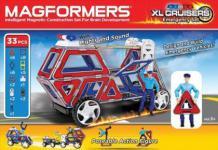 MAGFORMERS XL Cruiser Emergency 33er Set