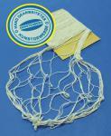 Fischernetz aus 100% Baumwolle 150 x 200cm in NATUR BEIGE