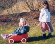 Kinder Bollerwagen CADDY Handwagen Ziehwagen Made in Germany