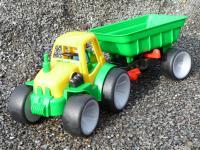 """GOWI Traktor mit Anhänger """"Gummibereifung"""" Top Qualität"""