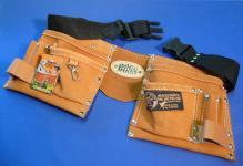 Kinder Werkzeuggürtel Werkzeugtasche aus ECHT - LEDER von Corvus