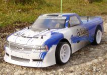 "RC RACING Pickup BULLET 43cm ""Ferngesteuert mit 27MHz"""
