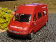 FEUERWEHR Daily Van TRANSPORTER 1:32 für Carrera Digital TOP DEKORATION