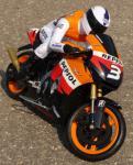 "RC Motorrad HONDA REPSOL Länge 23cm ""Ferngesteuert 27MHz"""