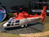 Hubschrauber JOHANNITER Notarzt DEKO für Carrera Digital Servo UNIVERSAL