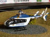 Hubschrauber POLIZEI für Carrera Servo 132 140 DIGITAL TOP DEKO