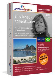 Sprachkurs Brasilianisch lernen Komplettpaket auf DVD