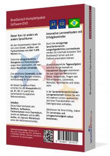 Sprachkurs Brasilianisch lernen Komplettpaket auf DVD - Vorschau 2