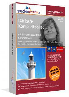 Sprachkurs Dänisch lernen Komplettpaket auf DVD