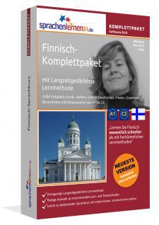 Sprachkurs Finnisch lernen Komplettpaket auf DVD
