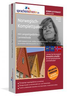 Sprachkurs Norwegisch lernen Komplettpaket auf DVD