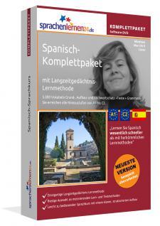 Sprachkurs Spanisch lernen Komplettpaket auf DVD