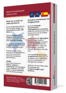 Sprachkurs Spanisch lernen Komplettpaket auf DVD - Vorschau 2