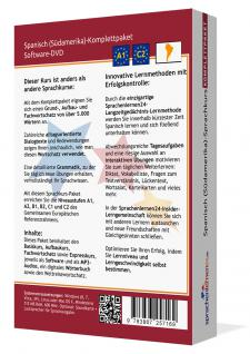 Sprachkurs Spanisch (Südamerika) Komplettpaket auf DVD - Vorschau 2