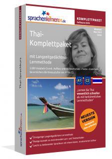 Sprachkurs Thai lernen Komplettpaket auf DVD