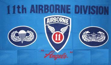 Flagge Fahne 11 th Airborne 90 x 150 cm