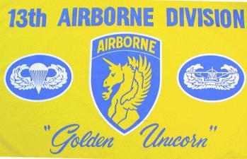 Flagge Fahne 13th Airborne Division 90 x 150 cm - Vorschau