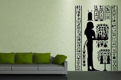 wandtattoo gyptisches fresco kaufen bei. Black Bedroom Furniture Sets. Home Design Ideas