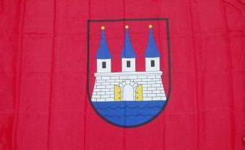 Flagge Fahne Hamburg Altona 90 x 150 cm - Vorschau