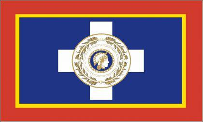 Flagge Fahne Athen 90 x 150 cm - Vorschau