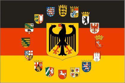 Flagge Fahne Deutschland Adler 16 B. 90 x 150 cm - Vorschau