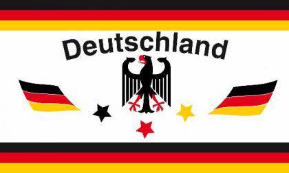 Flagge Fahne Deutschland Fan 1 90 x 150 cm - Vorschau