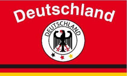 Flagge Fahne Deutschland Fan 10 90 x 150 cm - Vorschau