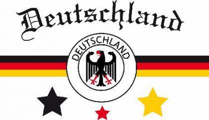 Flagge Fahne Deutschland Fan 3 90 x 150 cm - Vorschau