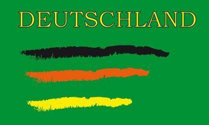 Flagge Fahne Deutschland Fan 4 90 x 150 cm - Vorschau