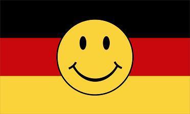 Flagge Fahne Deutschland Smily 90 x 150 cm - Vorschau