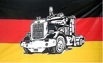 Flagge Fahne Deutschland Truck II 90 x 150 cm - Vorschau